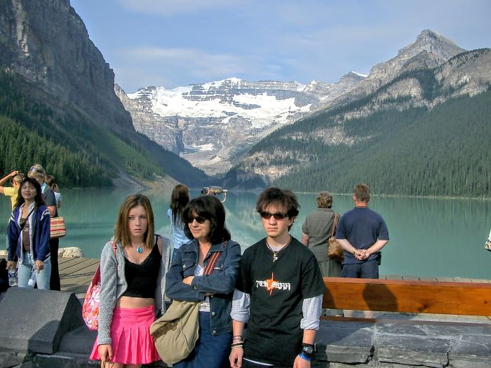 Family Road Trip: Obligatory Angsty Teens Against Picturesque Backdrop