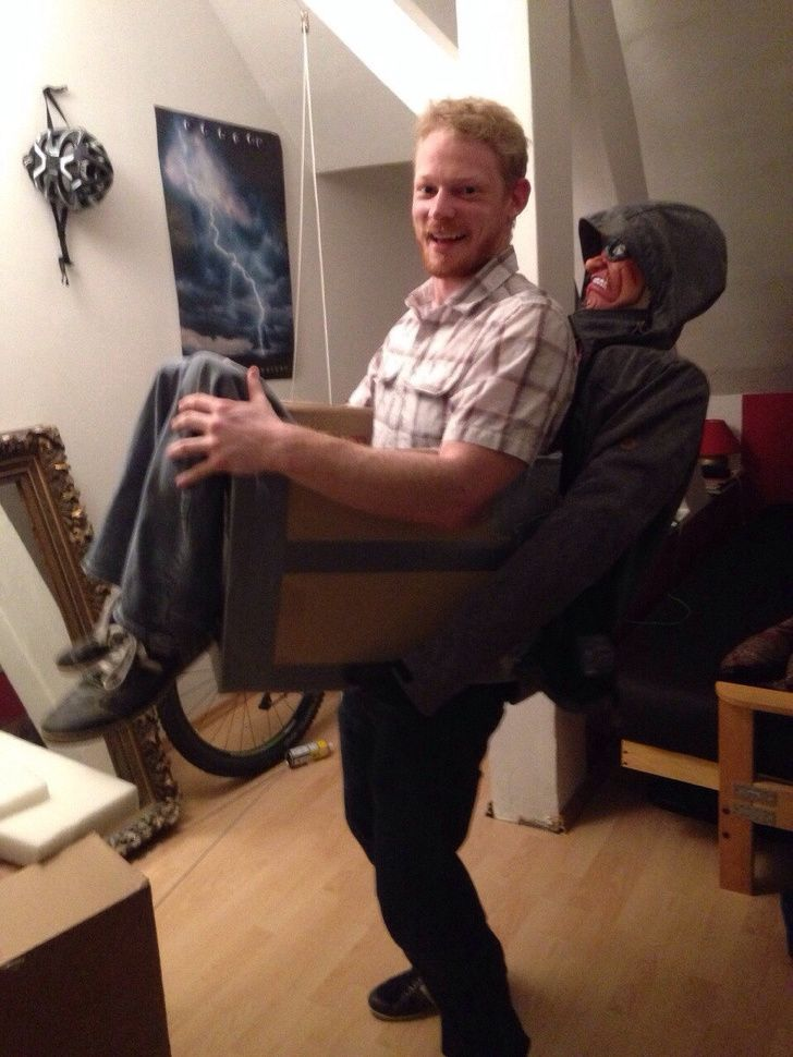 A really cool Halloween costume