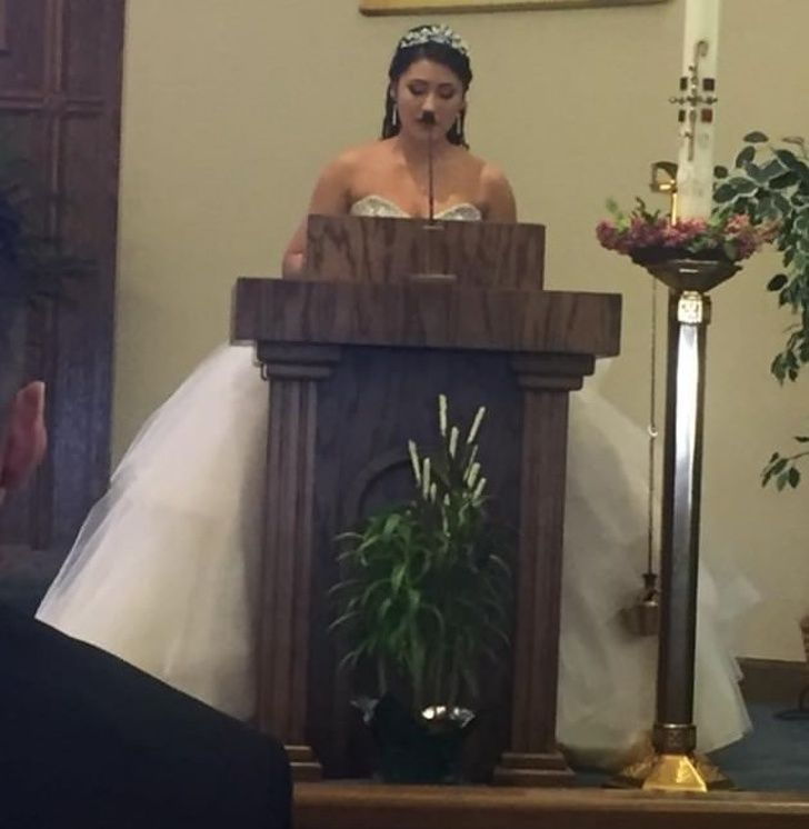 This is not the best wedding photo