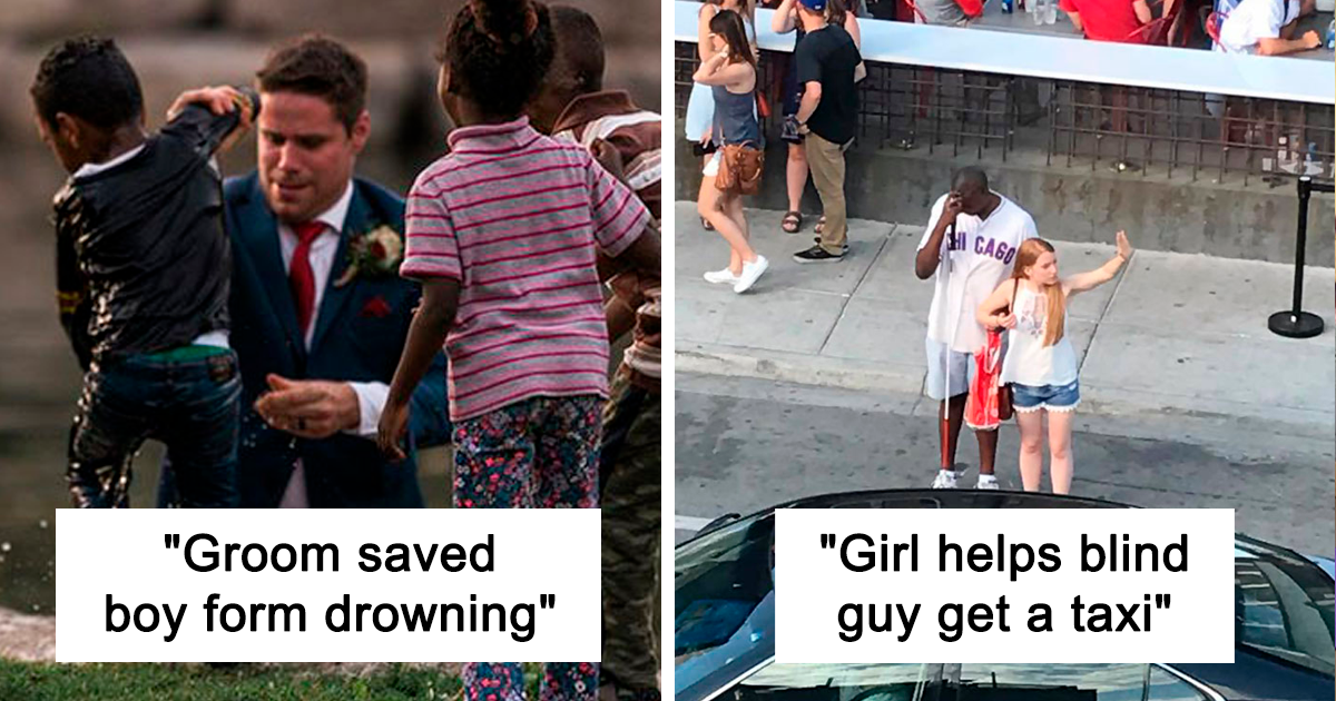 If You Think People Are The Worst These Days, These 20 Wholesome Pics May Change Your Mind
