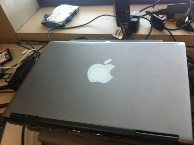 Someone sent this Macbook in for repairs today
