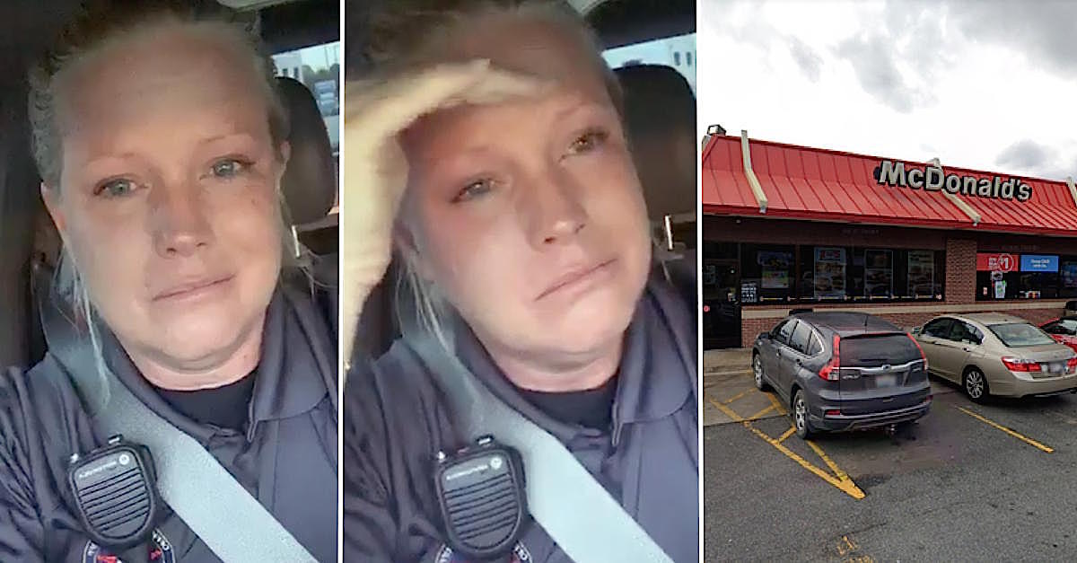 Cop Who Tearfully Accused McDonald's Of Withholding Her McMuffin Says She Doesn't Want Sympathy