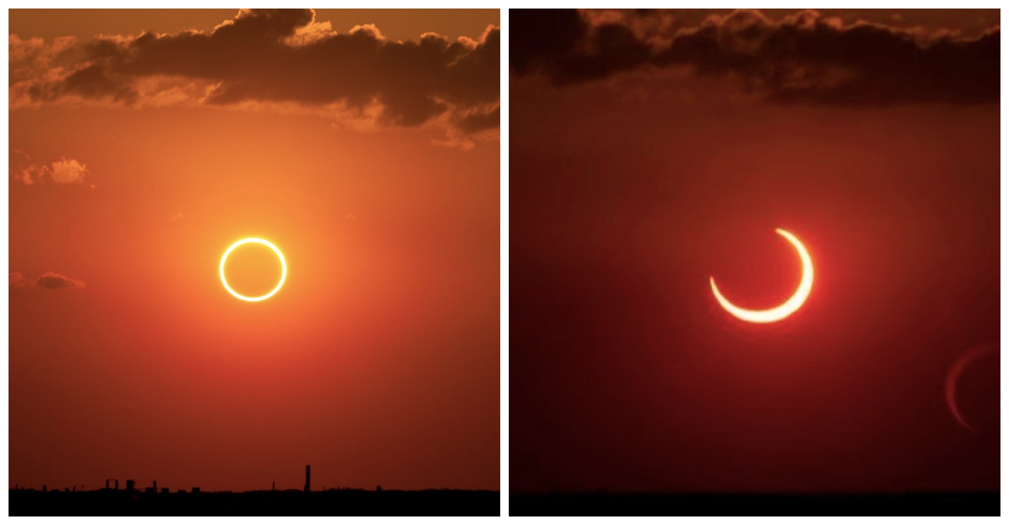 The most dramatic 'ring of fire' solar eclipse for a decade will be visible this weekend