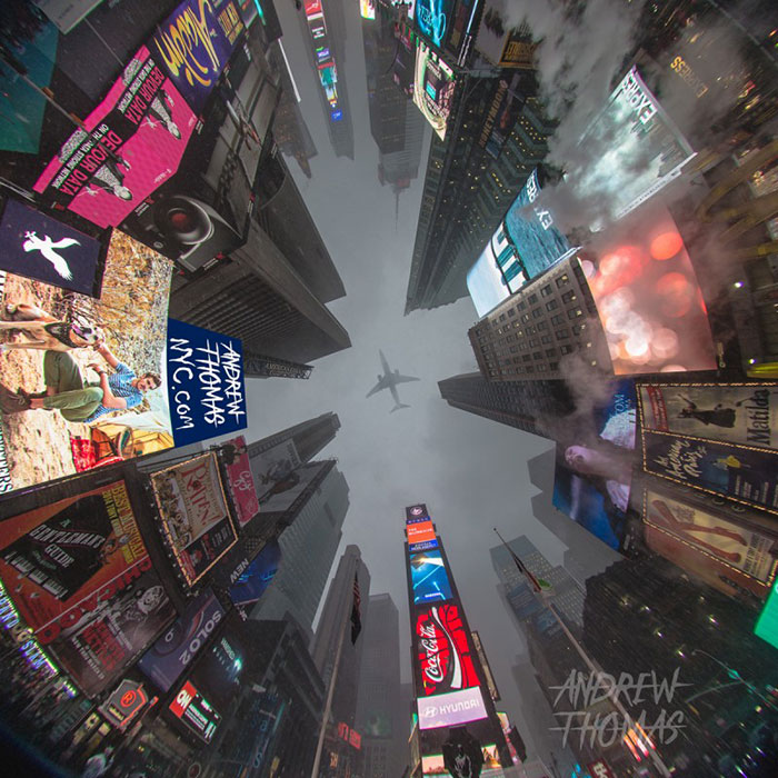 Time Square Winter Lookup