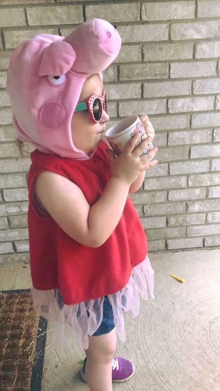 Mydaughter has been picking out her own clothes and watching her big brother get onthe bus.