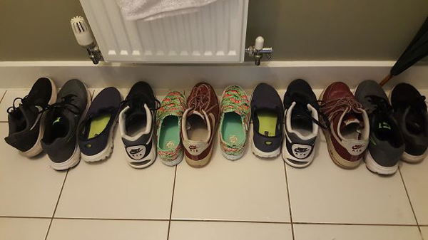 The Way My Housemate Tidied These Shoes