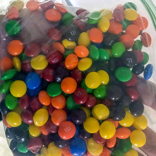 My Wife Thinks It Is OK To Mix M&M's With Skittles