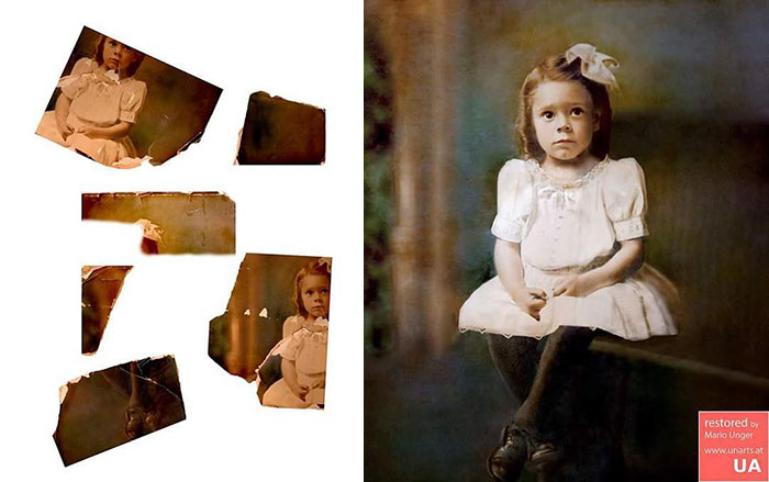 This might have been the most difficult restoration for the photographer