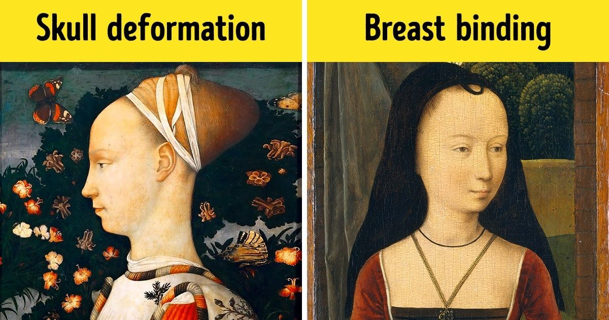 beauty standards in the past