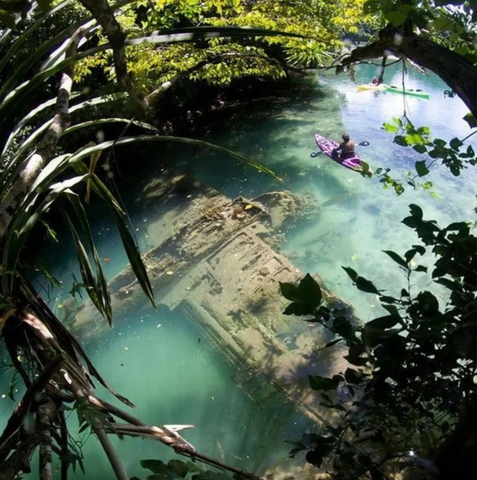 Strange Secrets: You'll encounter a sight like this in the remote areas of a South Pacific nation