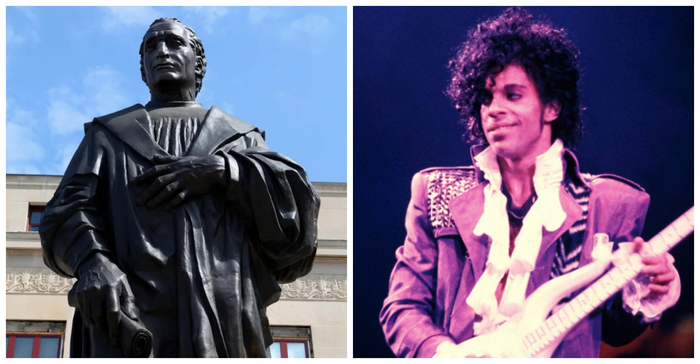 Petition launched to replace Christopher Columbus statue with one of Prince