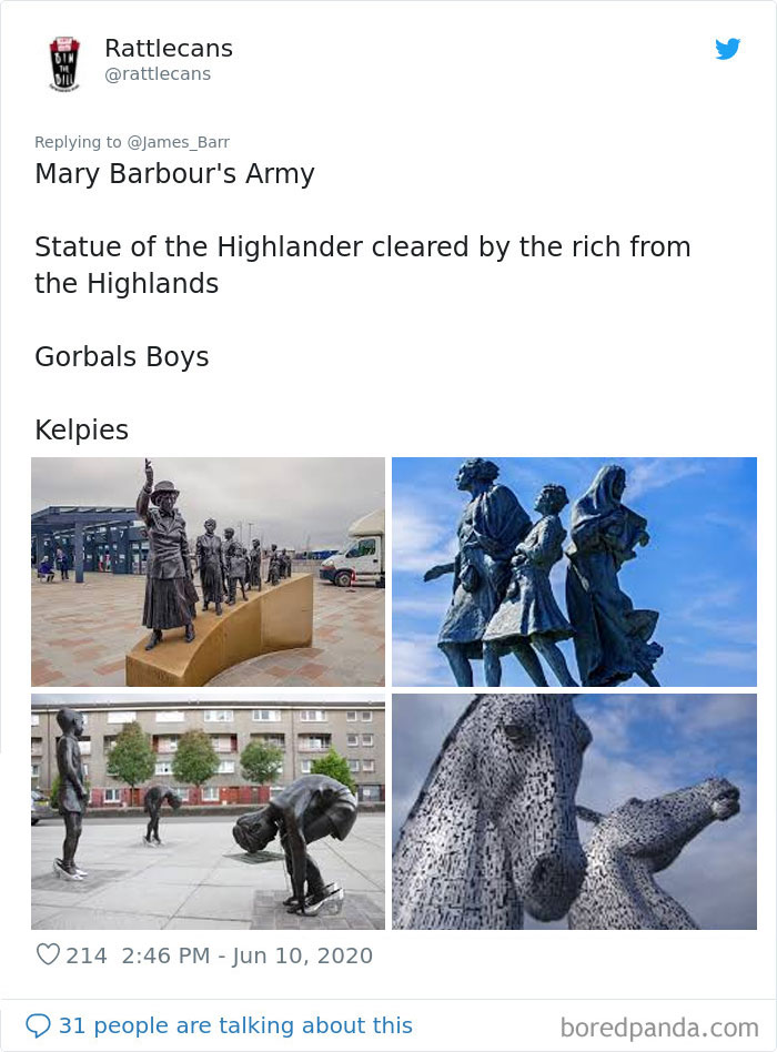 Famous statues: Mary Barbour's Army