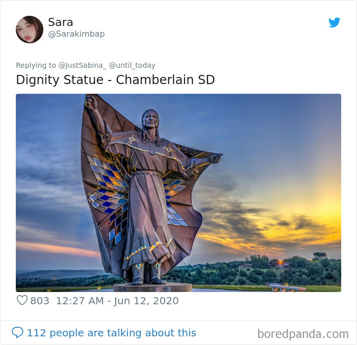 Famous statues:  Dignity Statue