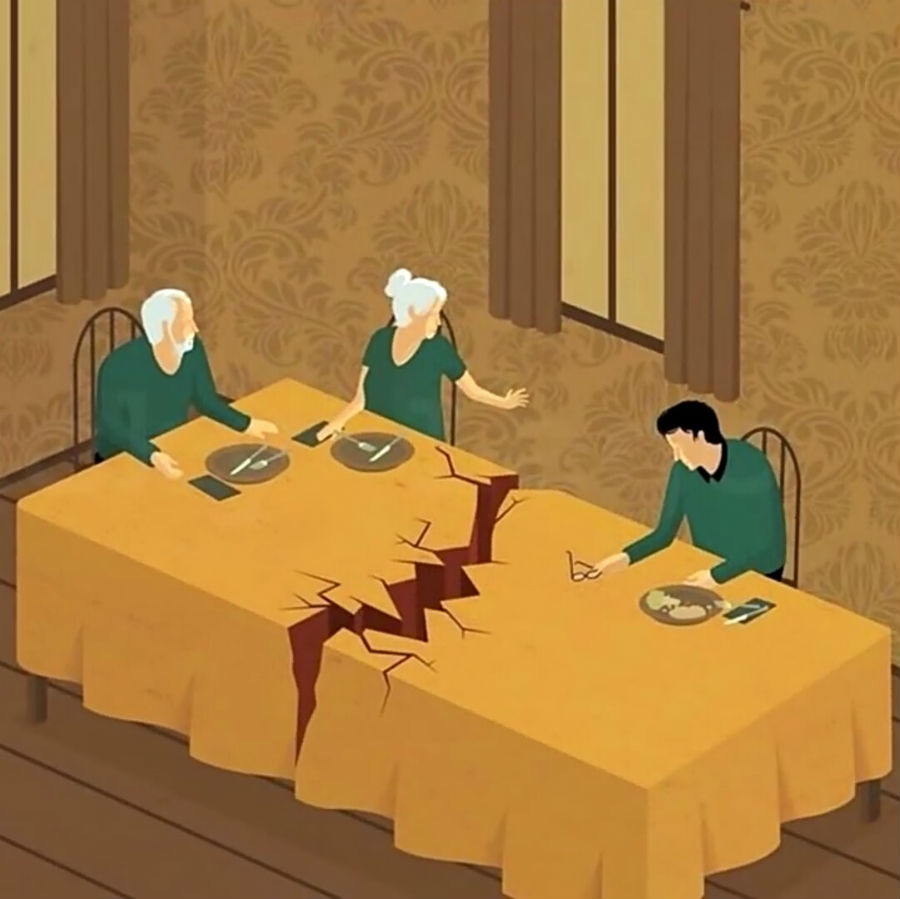 gut-wrenching table