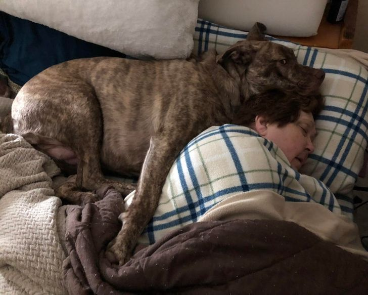 Came home from work to find someone sleeping with my wife
