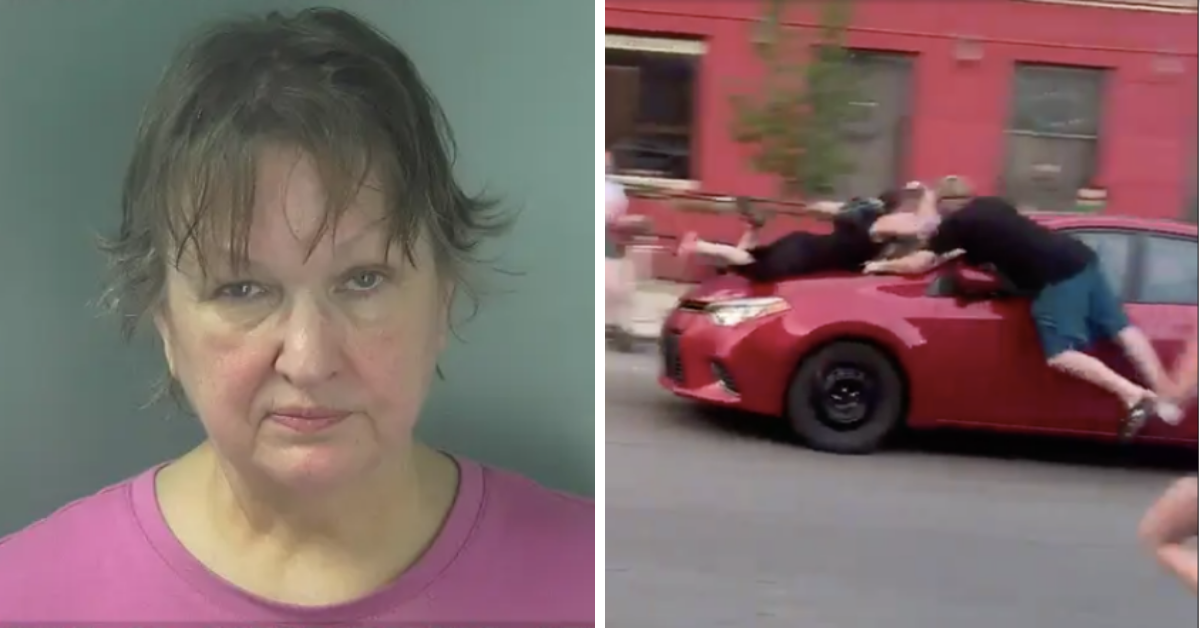 Indiana Woman Arrested For Hitting Protesters