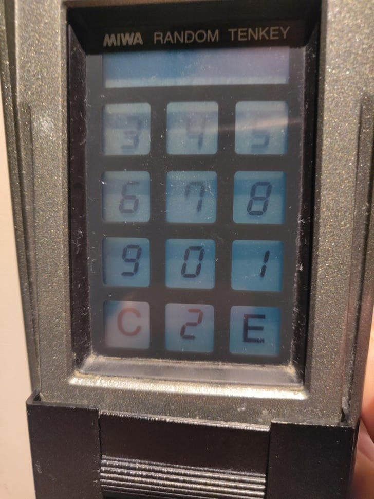 The unique designs that generate random numbers so that the thieves can never get to know your Pin number