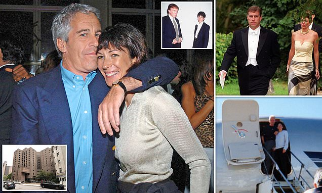 Ghislaine Maxwell 'will be naming names': Jeffrey Epstein's arrested 'pimp' is 'set to cooperate with FBI' in ominous news for Prince Andrew and she could be held in prison where pedophile 'killed himself'
