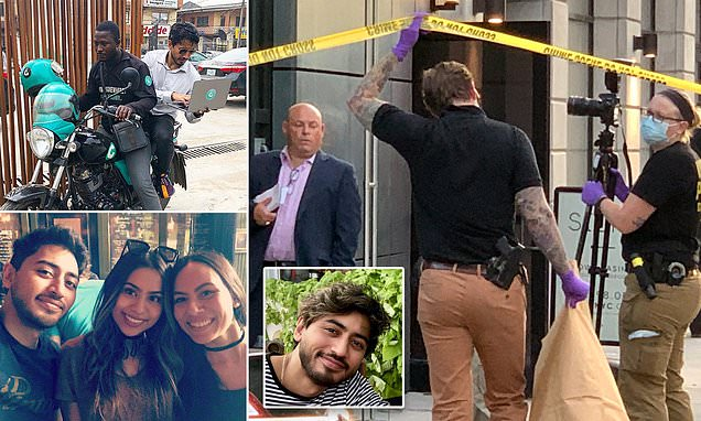 Body of millionaire tech entrepreneur, 33, is found decapitated and dismembered next to electrical saw in his luxury Manhattan apartment after footage showed him sharing elevator with professional killer