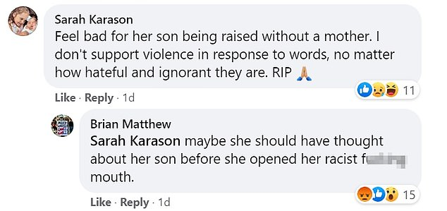 Young mom faces trolls on Facebook page