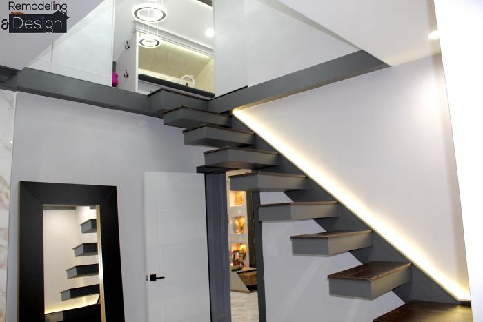 One of the toughest parts of the attic project was the stairs
