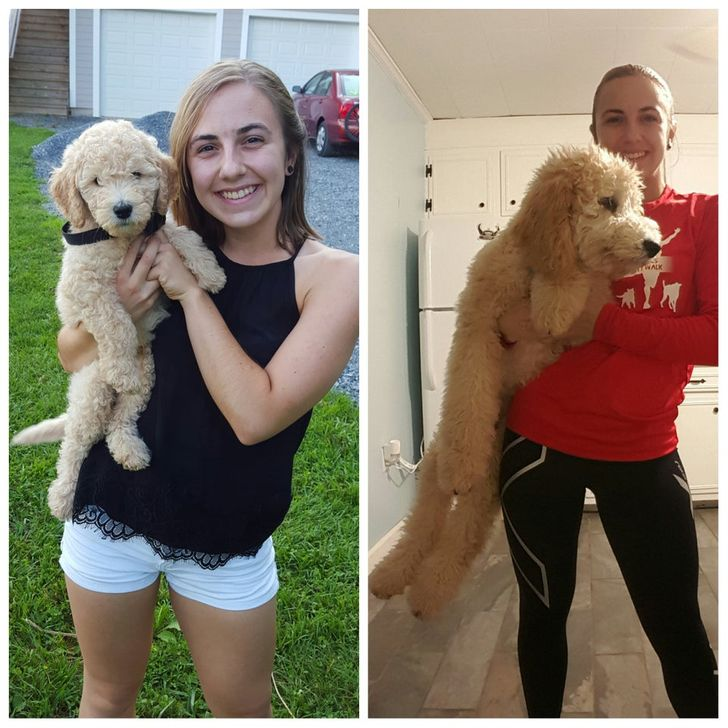 What adifference 3months can make!
